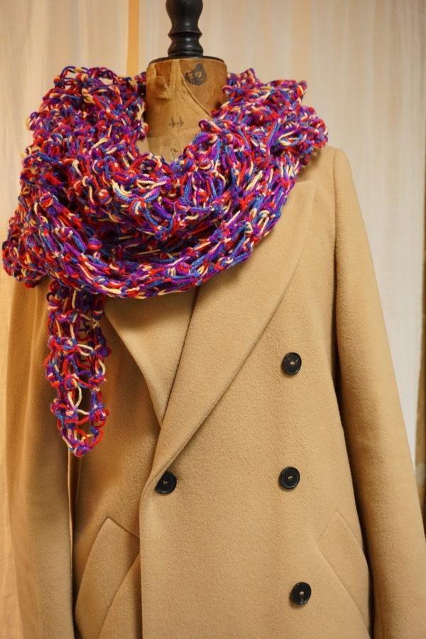 Etole multicolore pour l'hiver