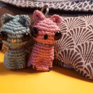 Deux petits copains chats