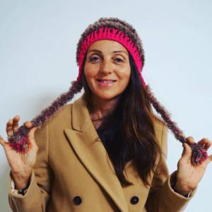 Bonnet style péruvien pour le ski, les ballades ..