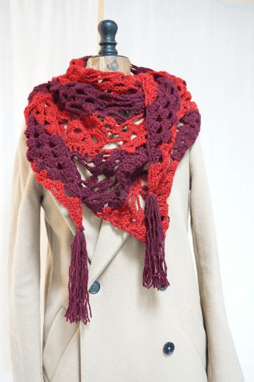 Une écharpe style gothique pour l'hiver