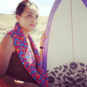 Echarpe laine douce